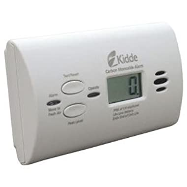 Kidde KN-COPP-B-LPM Battery-Operated Carbon Monoxide Alarm with Digital Display,Pack of 1