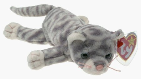 TY Beanie Baby - SILVER the Cat