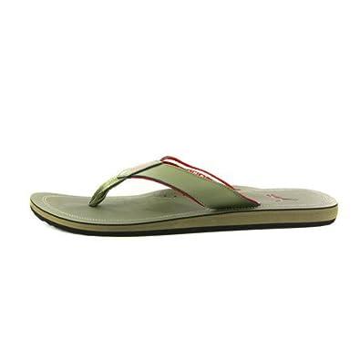 49fefad32f3ff3 Puma Mens Surfrider Flip Flop Olive Green Sandals UK 11  Amazon.co ...