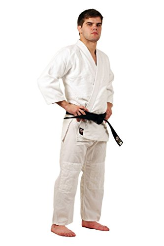 Ronin Brand Single Weave Bleach White Judo gi (Cotton Drawstring Judo Pants)