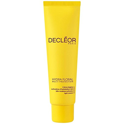 Decléor Hydra Floral Multi Protection Light Cream 30ml - Pack of 6 (Hydra Eye Floral)