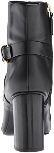 Nine West Women's Cavanagh Ankle Boot Black Leather buy cheap clearance store discount genuine ZphbFvyb