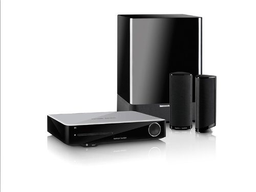 Harman Kardon BDS 3772 2.1 Integrated 3D Blu-Ray Disc Home Theater System with Wireless Connectivity