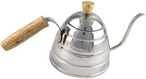 PETSOLA ステンレス鋼の点滴やかん上の注ぐためのグースネックコーヒーやかん