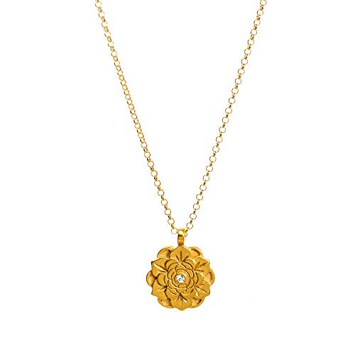 Dogeared Gold Necklace - Dogeared Womens Gold Double Link Friends Chain Necklace, 16