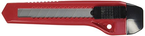 Hyde Tools 42047 Snap-Off Retractable Blade Utility Knife with Postive Lock