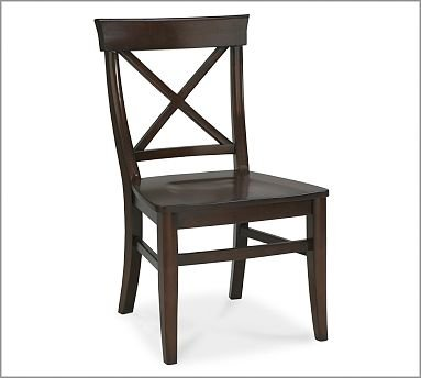 Delicieux Pottery Barn Aaron Wood Seat Chair