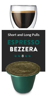 Tayst Coffee Roaster - ESPRESSO BEZZARA - 20 Nespresso Compatible Espresso Pods - Fresh, Delicious, Gourmet Coffee, an Aromatic Artisan Blend of the Highest Quality.
