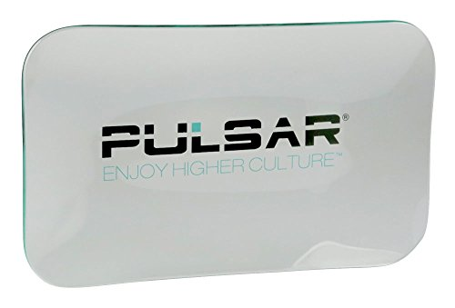 Pulsar Glass Rolling Tray (Large 5.75' x 9.75')
