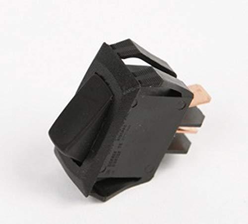 Carling Technologies RD221-MB-B-0-Nx5 Rocker Switch SPST Off(On) .25QC (Pack of 5) by Carling Technologies