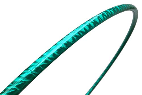 SpinMajik Dance Hula Hoop for Fun, Fitness, Dance and Performance. Great for Beginners! (Teal ()