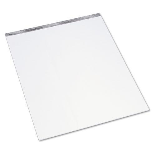 Tops 79450 Second Nature Easel Pads, Unruled, 27 x 34, White, 3 50-Sheet Pads/Carton by Tops