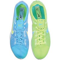 Nike Air Zoom Victory Middle Distance Running Spikes - 14 - Blue