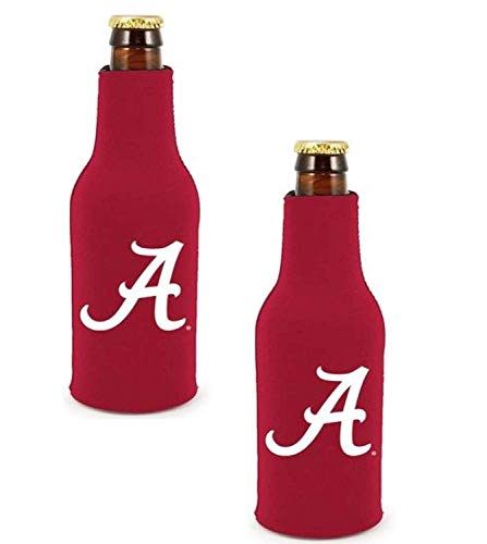 Bottle Alabama Insulated (Official National Collegiate Athletic Association Fan Shop Authentic NCAA 2-Pack Insulated Bottle Cooler. Show Team Pride at Home, Tailgating or at The Game (Alabama Crimson Tide))