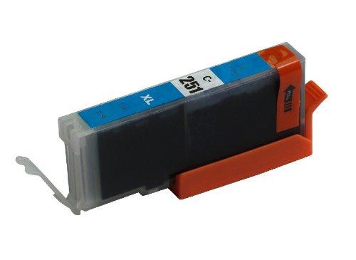 ink4work© CLI-251XL Cyan Compatible Ink Cartridge for Pixma IP7220, MG5420, MG6320, MX722, MX922
