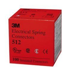 3M ELECTRICAL 20058 Scotchlok Insulated Electrical Spring Conn (Price is for 100 Each/Box)