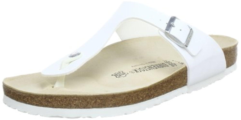 Birkenstock Gizeh Birko-Flor, Style-No. 43751, Unisex Thong Sandals, Mocca Nubuk, EU 44, normal width