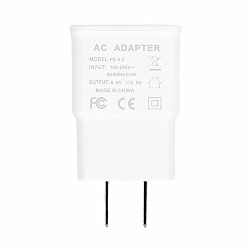 ReadyPlug USB Wall Charger for Lenovo RocStar (A319) - AC/DC Wall Adapter 2A USB Port (White)