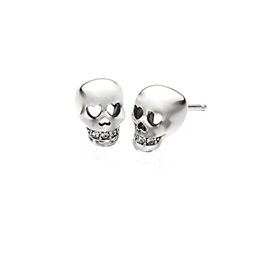 Chamilia Authentic Love You To Death Skull Earrings, used for sale  Delivered anywhere in USA