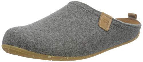 Rohde Mens Tivoli-H Flat Slipper, 80 Grey, 10 UK