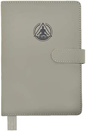 Best Daily Planner Calendar & Gratitude Journal to Enhance Your Productivity + Time + Happiness - Accomplish All Your Goals in 2019! - Deluxe Leather Notebook Agenda - Undated!