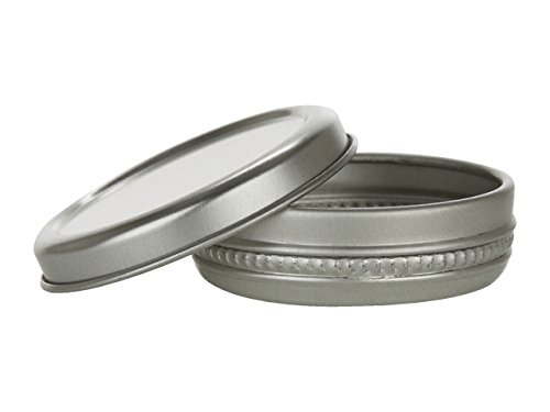 (Nakpunar 24 pcs 1/3 oz Aluminum Tin Container - 10 ml Round)