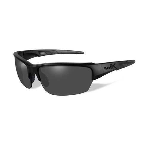 - WILEY X SAINT SUNGLASSES - SMOKE GREY LENS - MATTE BLACK FRAME