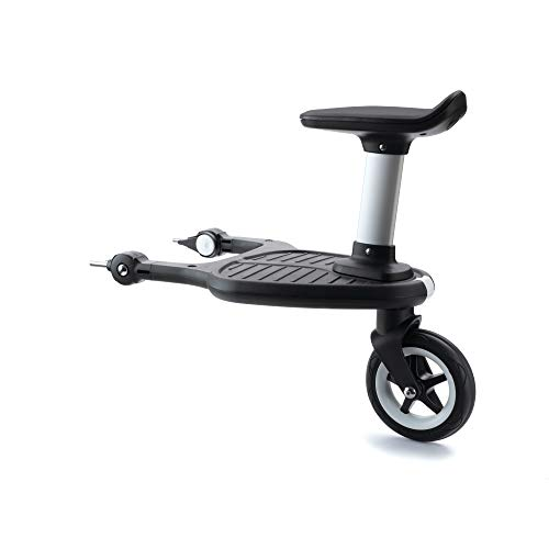 Bugaboo 2017 Comfort Wheeled Board - Stroller Ride On Board with Detachable Seat, Holds Children Up to 44lbs