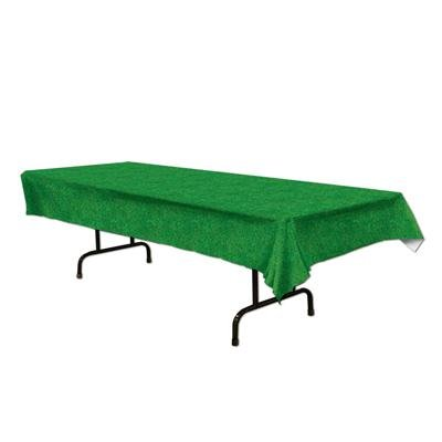 Grass Tablecover Party Accessory (1 Count) (1/pkg) Pkg/12 by Beistle