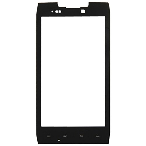 (iPartsBuy Front Screen Outer Glass Lens Replacement for Motorola DROID RAZR / XT912 / XT910(Black))