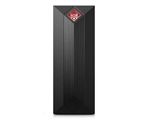 OMEN by HP Obelisk Gaming Desktop Computer, Intel Core i5-8400 Processor, NVIDIA GeForce GTX 1060 6 GB, HyperX 8 GB RAM, 256 GB SSD, VR Ready, Windows 10 Home (875-0020, Black)