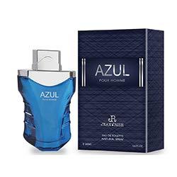 AZUL Designer Cologne for Men By TRINITY PARFUM USA Eau De Toilette 3.4 FL. OZ. 100ML Perfume - (Azul Cologne)