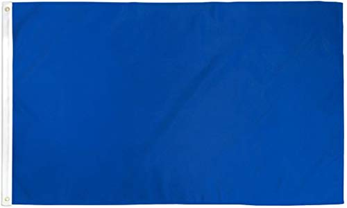 Royal Blue Solid Color 3x5 ft polyester Flag