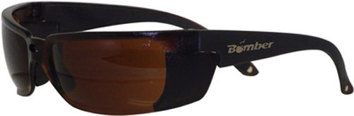 Bomber Z-Bomb Floating Safety Sunglasses , Distinct Name: Amber/Amber Lens, Primary Color: Brown, Gender: Mens/Unisex - Parts Of Sunglasses Name
