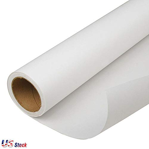 "US Stock - 95GSM HanJi Dye Sublimation Transfer Paper Heat Transfer Printing Paper for Polyester Fabrics, Mugs, Plates, Tiles - 44"" (111.8cm) x 328"