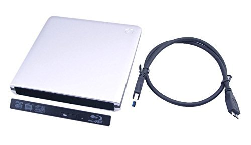 Nimitz External USB 3.0 Case Enclosure For Laptop 12.7mm SATA Optical DVD Drive by Nimitz