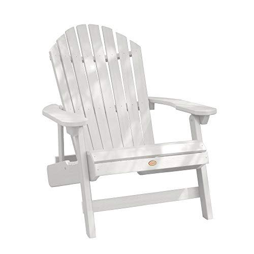 Highwood AD-KING1-WHE Hamilton Adirondack Chair, King, White