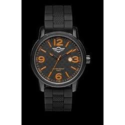 Mini Torneau Men's watch Orange