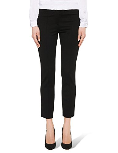 Marc Cain Essentials, Pantalones para Mujer Negro (Black 900)