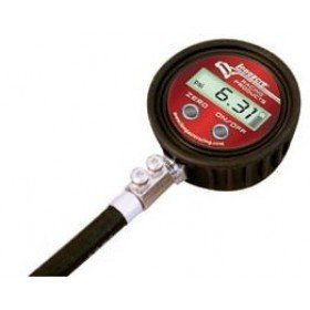 Longacre 53010 Digital Tire Gauge 0-25 PSI with Ball Chuck