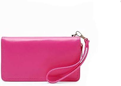 Gimax Coin Purses Woman Wallet Zipper PU Coin Purse Coin Bag Children Korean Style Bag Square Small Bag Monederos para Mujer Monedas Color: Rose red
