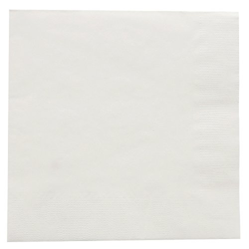 Royal White Beverage Napkin, Package of 1000 by Royal (Image #3)