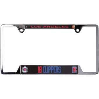 Los Angeles Clippers Merchandise (NBA Los Angeles Clippers Metal License Plate Frame)