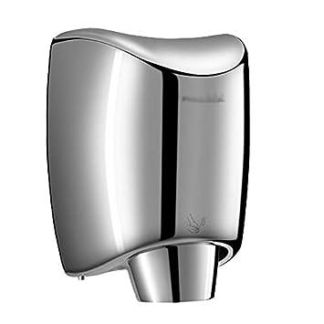 Secador de Manos Eléctrico Automático Inducción Inteligente Aire Caliente y Frío, Silencioso, Baño Comercial