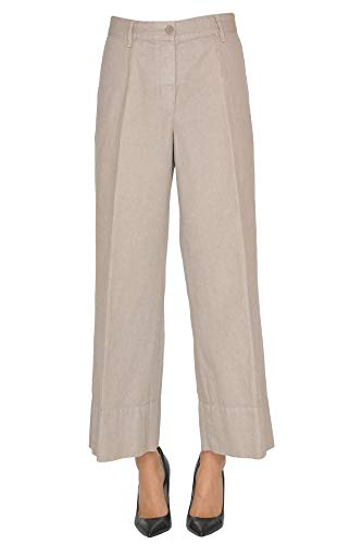 Algodon Mujer Beige Pantalón Mcglpns000005016e Aspesi StqxpnFqA