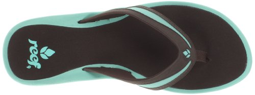 Reef pour Sandales Bleu Aqua femme Brown 5qqd6wZnr