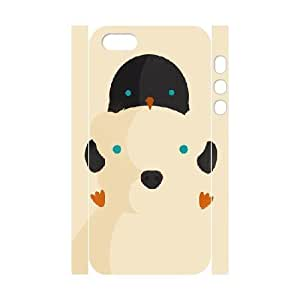 3D Stevebrown5v Penguin Case For Ipod Touch 4 Cover Case Scratch Resistant Penguin with Polar Bear, Color Case For Ipod Touch 4 Cover [White]