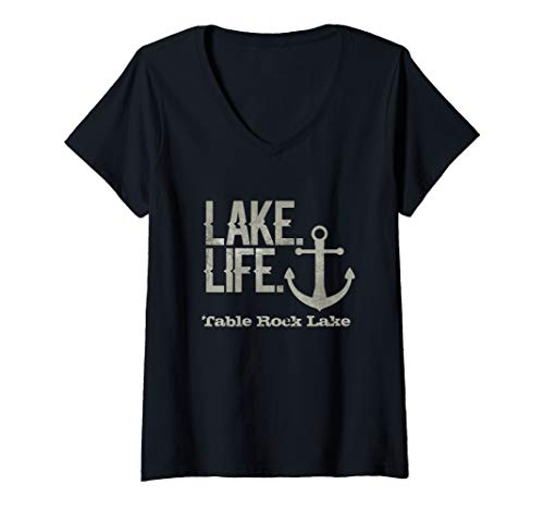 Womens Table Rock Lake Missouri Nautical Design with for sale  Delivered anywhere in USA