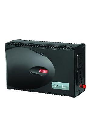 V Guard VG Crystal Voltage Stabilizer for Television, Black