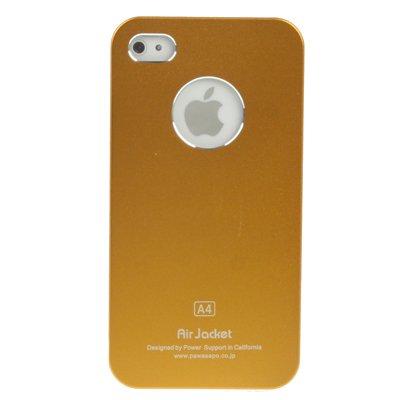 "Original THESMARTGUARD iPhone 4S / 4 Case im ""Alu-Eye-Style"" - gold"